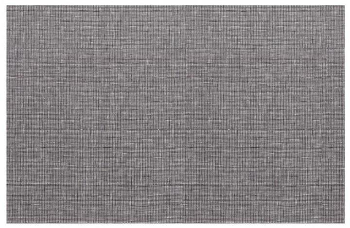 Tischset Miami metallic silber 45 x 30 cm