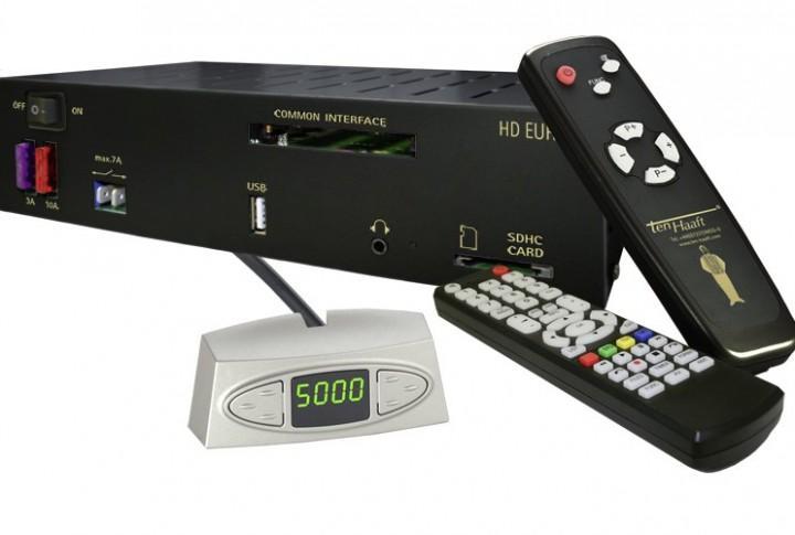 Ten Haaft Sat-Anlage Oyster SAT-DOM Digital HDTV