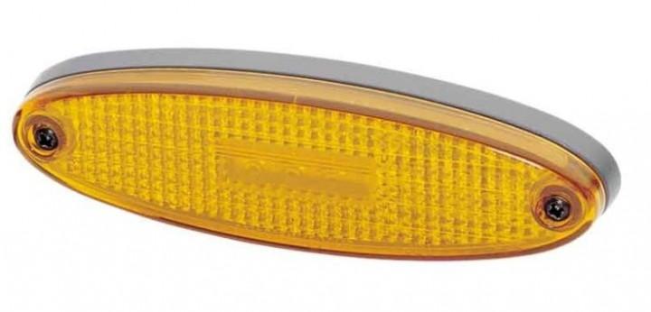 Hella LED Seitenmarkierungsleuchte horizontal gelb KOPIE