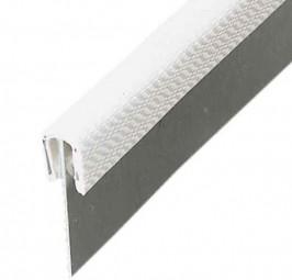 Kantenschutzprofil groß hellgrau Meterware