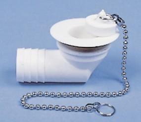 Wasserablaufgarnitur gewinkelt Schlauch 25 mm Typ B 31 mm