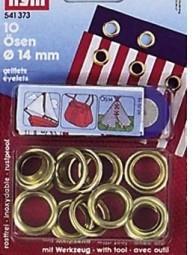 PRYM Ösen und Scheiben 14 mm