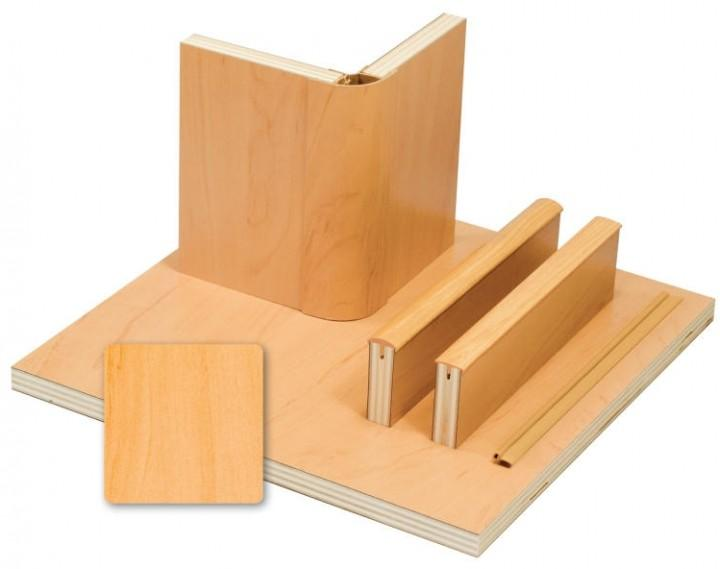 Möbelbauplatte Apfel ür den Wohnmobil-Selbstausbau