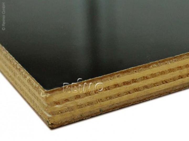 Möbelbauplatte 2,44x1,22m Hochglanz schwarz