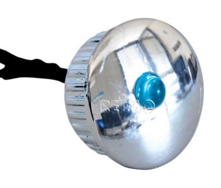 LED Spot Einbau mini blau rund 19 mm