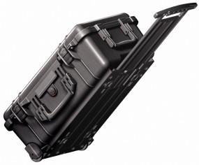 Pelibox Flightcase 1560 schwarz mit Schaum