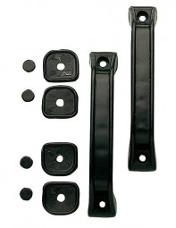Wohnwagen-Rangiergriff 145 mm schwarz