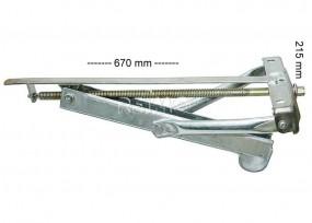 Universal Kurbelstütze 497mm 600kg max.900kg