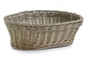 Brotkörbchen oval taupe