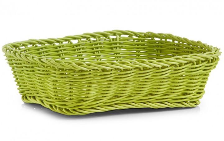 Brotkörbchen rechteckig grün