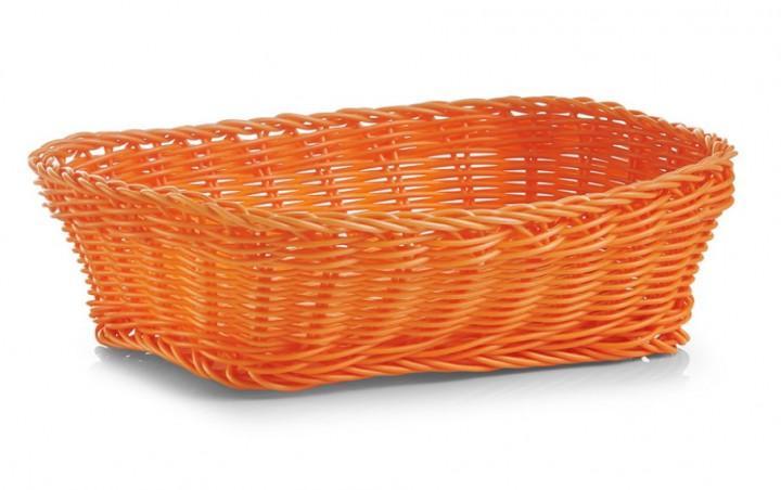 Brotkörbchen rechteckig orange