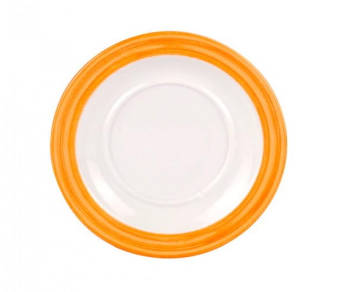Waca Family Bistro Untertasse orange