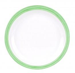 Waca Family Bistro Teller flach grün