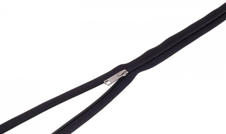 Spezial Reißverschluss für Moskitonetz schwarz
