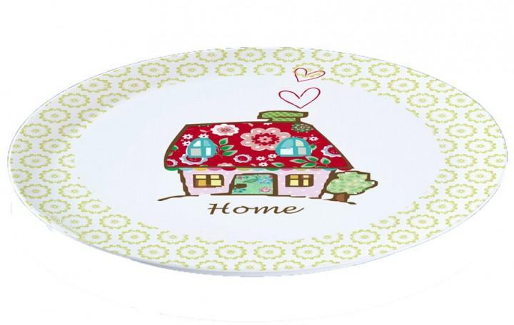 Pizzateller Dekor Haus