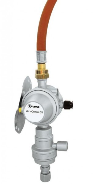 Gasdruckregler MonoControl CS 30 mbar vertikale Wandmontage