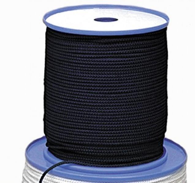 Relags Seil 200 Meterrolle 4 mm schwarz
