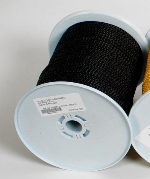 Relags Seil 30 Meterrolle 4 mm schwarz