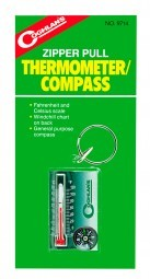 Coghlans Schlüsselanhänger Thermo/Kompass