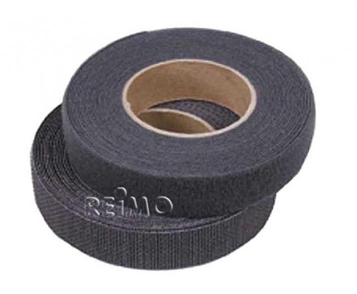 Klettband selbstklebend 20 mm schwarz 5 Meter