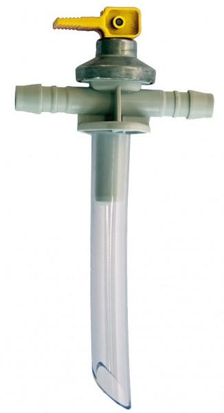 Ablassventil ABO 2,8–3,5 bar gelb für Truma Boiler