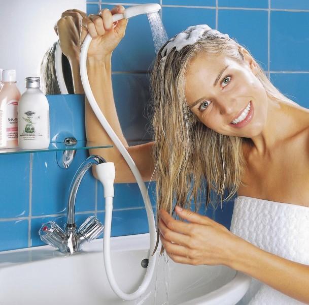 Dusche für Wasserhahn