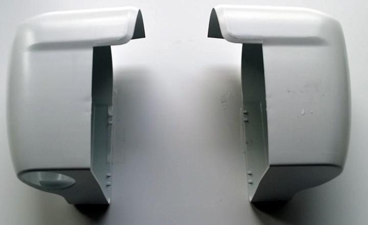 Endkappen Thule Omnistor 5002 ab Baujahr 2005 weiß Satz links und rechts
