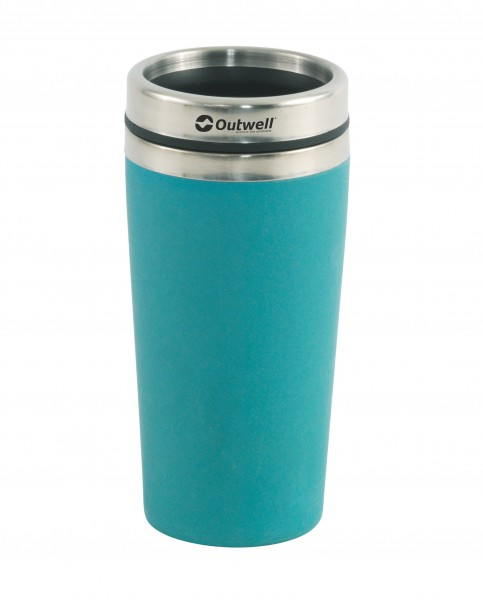 Outwell Thermobecher Bambus blau