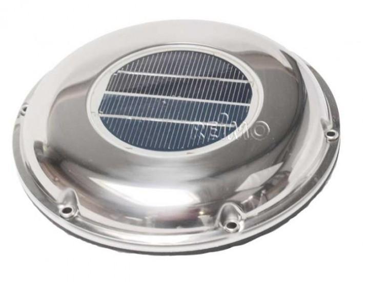 Solarventilator 215mm aus Edelstahl