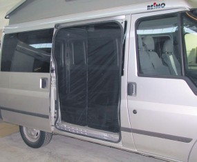 Moskitonetz Ford Transit Bj. ab 2000 - 01/2013 Hecktür