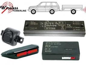 Rückfahrwarner für Wohnwagen Optisches System