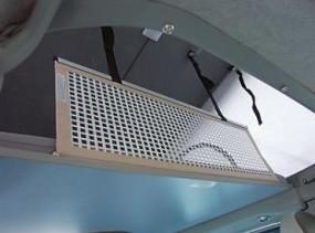 Sicherheitsnetz starr für Alkoven 1060x350 mm mit Gurtschloss