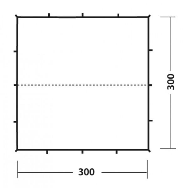 Robens Tarp 3 x 3 Meter