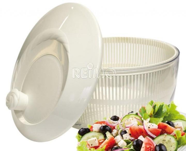Salatschleuder weiß
