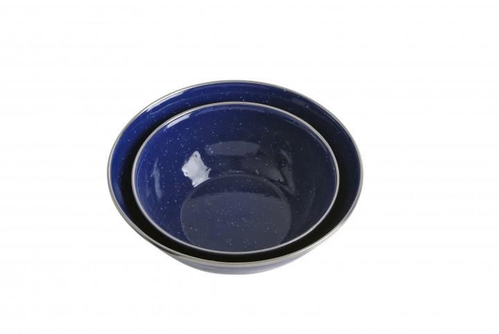 Relags Emaille Schüssel 20 cm, blau