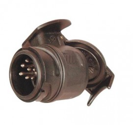 Kurzadapter Stecker 13-polig/Steckdose 7-poligr DIN - ISO 1724