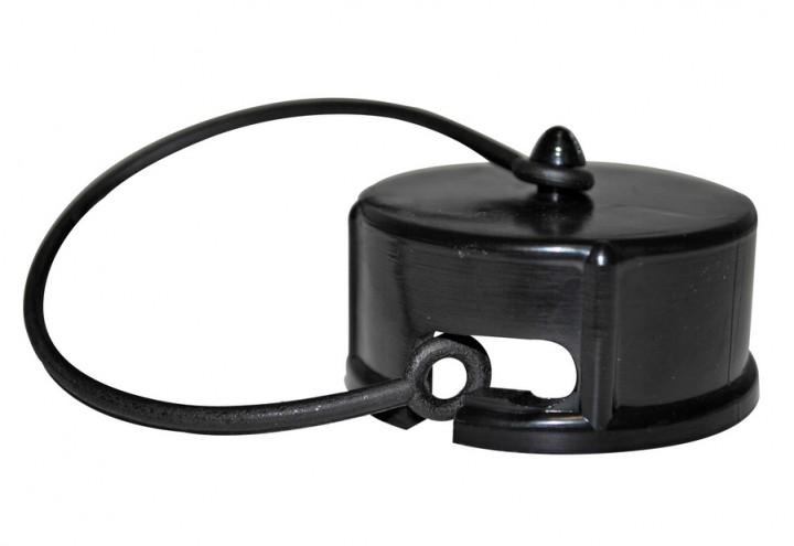 Deckel schwarz für Entleerungsventil 1 ½ Zoll
