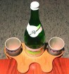 Getränkehalter Tischboy buche
