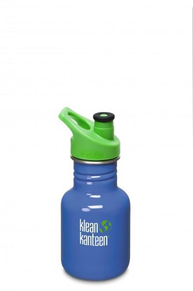 Klean Kanteen Flasche Kid Sport blau 0,355 L