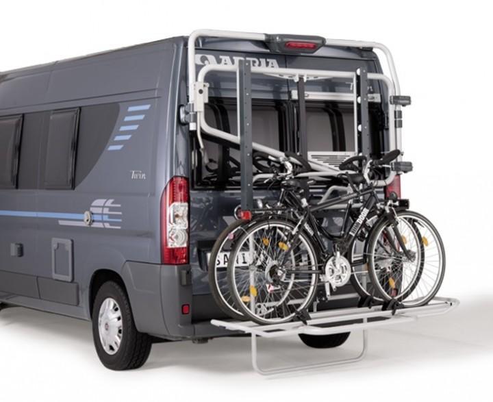 Lastenträger Futuro Basic für 2 E-Bikes Hochdachtyp H2