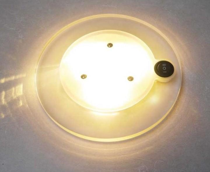 LED 12V Deckenleuchte mit Schalter