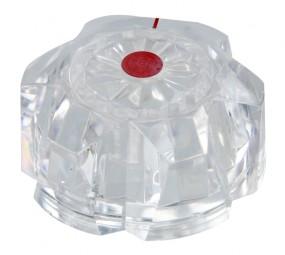 Drehknopf für Reich-Wasserhahn roter Punkt