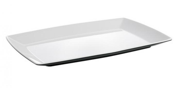 Platte Quadrato Black and White