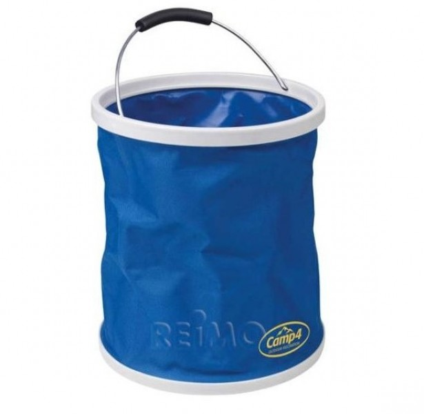 Falteimer 9 Liter blau