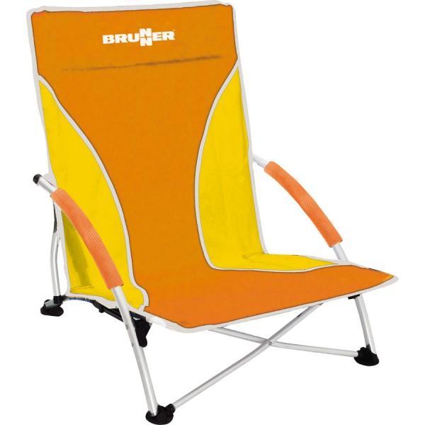 Brunner Strandstuhl Cuba orange