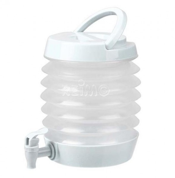 Faltbarer Wasserspender 3,5 Liter Weiß