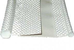 Textil-Doppelkeder grau 7-7 mm 6m