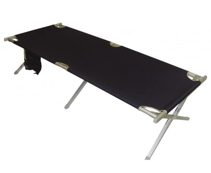Feldbett XL für Zelte blau