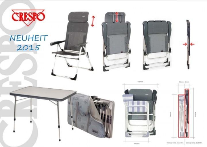 Stuhlset-Tischset für Kastenwagen