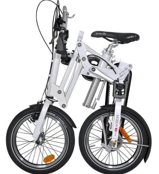 Mobiky Faltrad Steve weiß